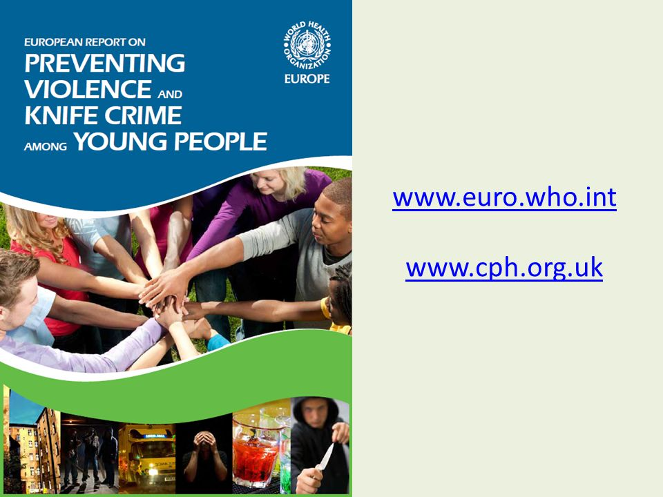 www.euro.who.int www.cph.org.uk