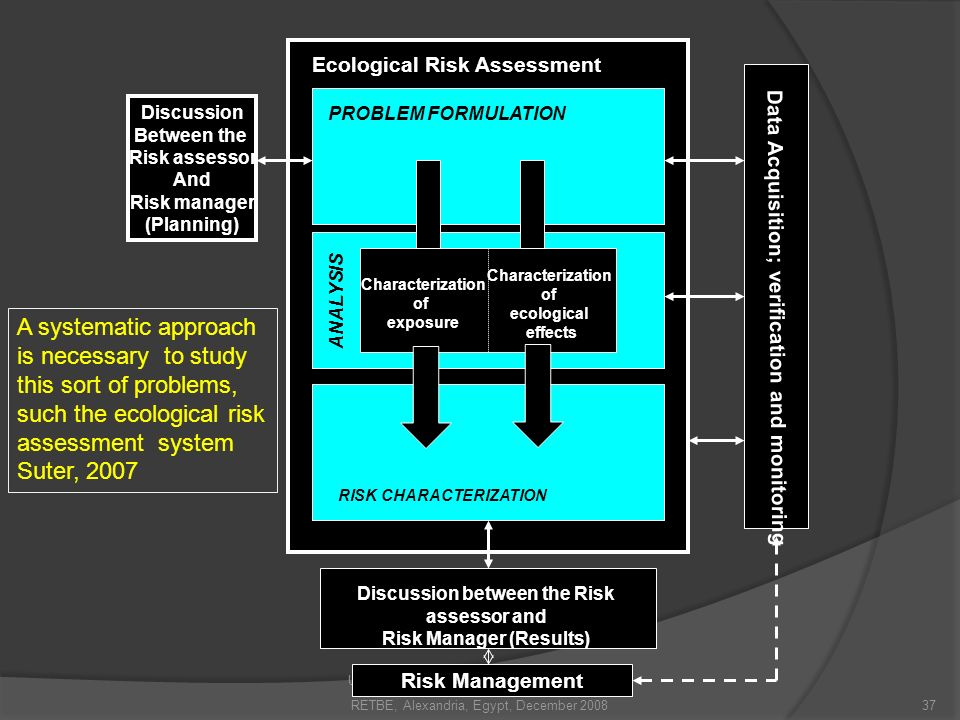 Discussion between the Risk assessor and Risk Manager (Results)
