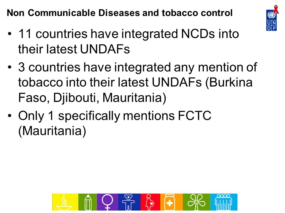 Non Communicable Diseases and tobacco control