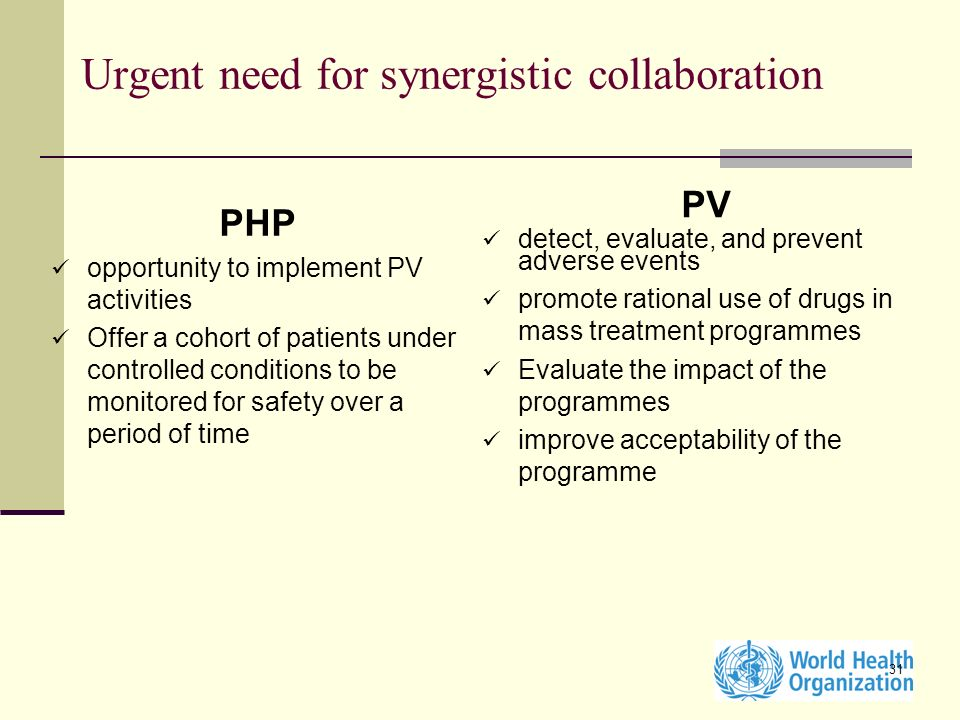 Urgent need for synergistic collaboration