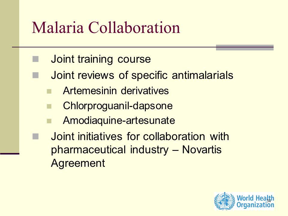 Malaria Collaboration