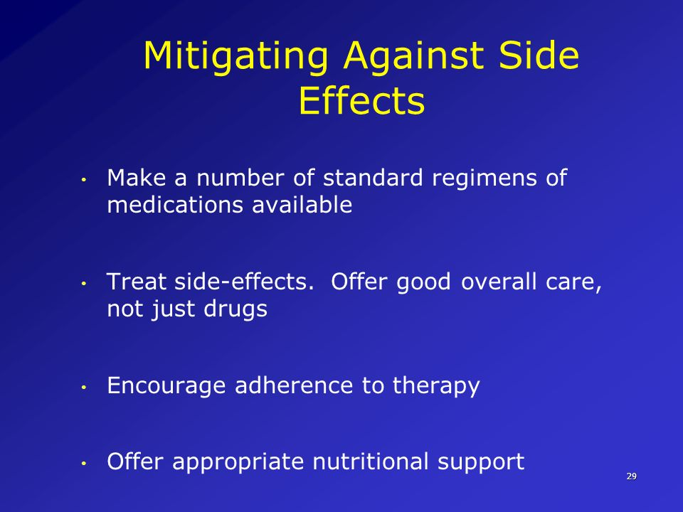 Mitigating Against Side Effects