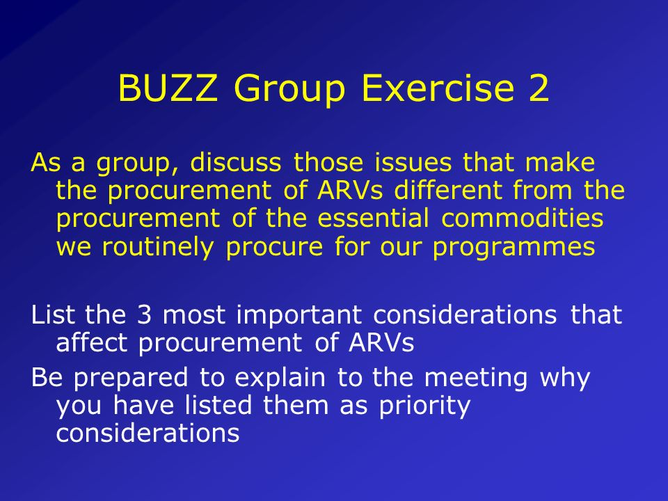 BUZZ Group Exercise 2