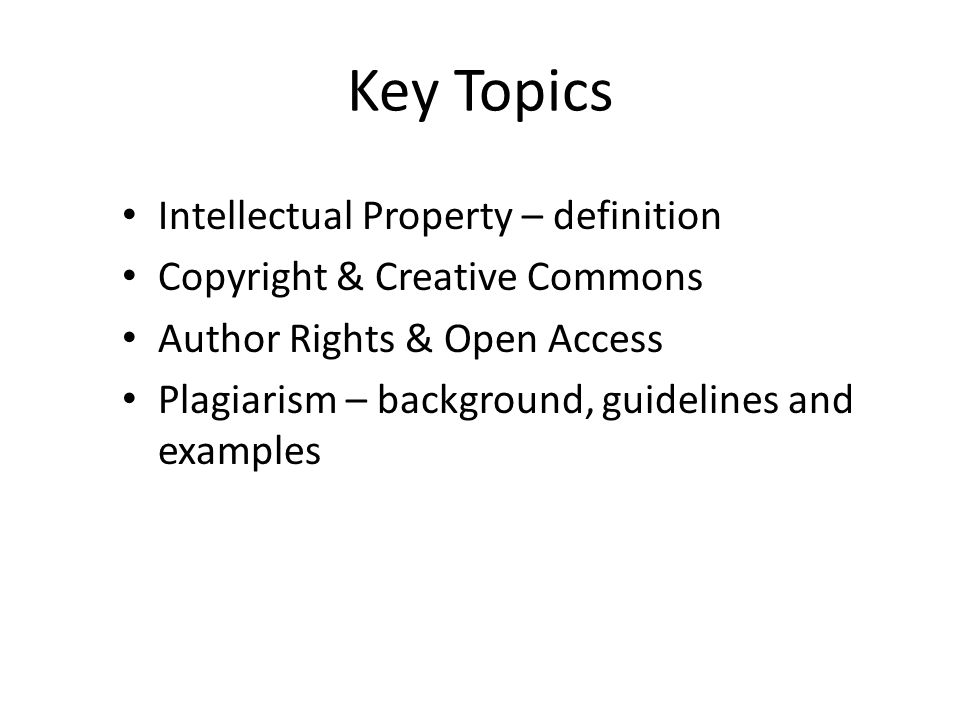 intellectual property rights and student plagiarism Intellectual property and plagiarism chapter exam instructions choose your answers to the questions and click 'next' to see the next set of questions.
