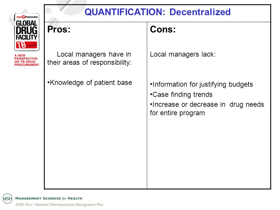 QUANTIFICATION: Decentralized