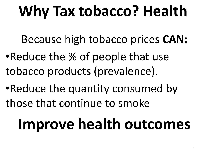 Improve health outcomes