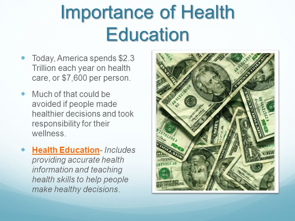 Importance of Health Education