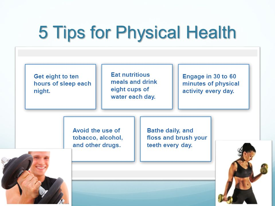 5 Tips for Physical Health