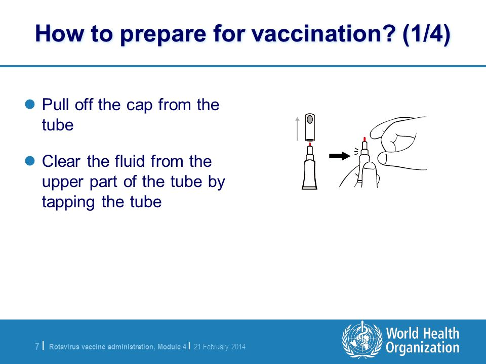 How to prepare for vaccination (1/4)