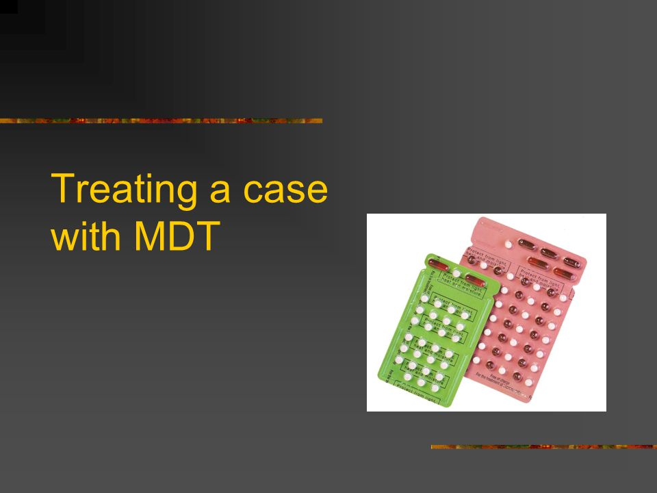 Treating a case with MDT