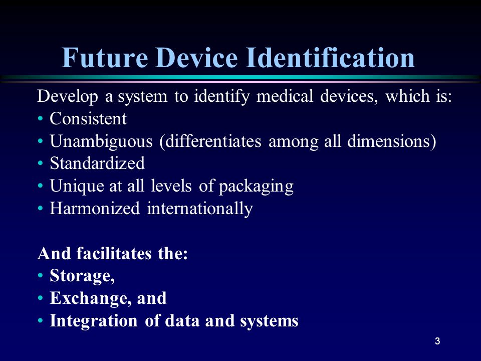 Future Device Identification