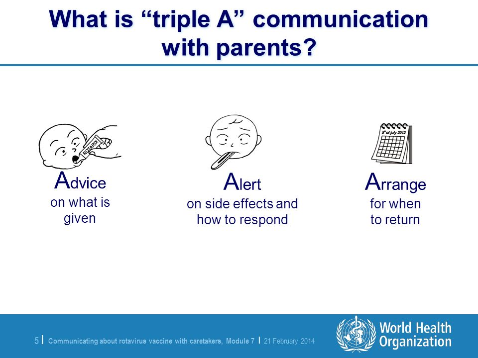 What is triple A communication