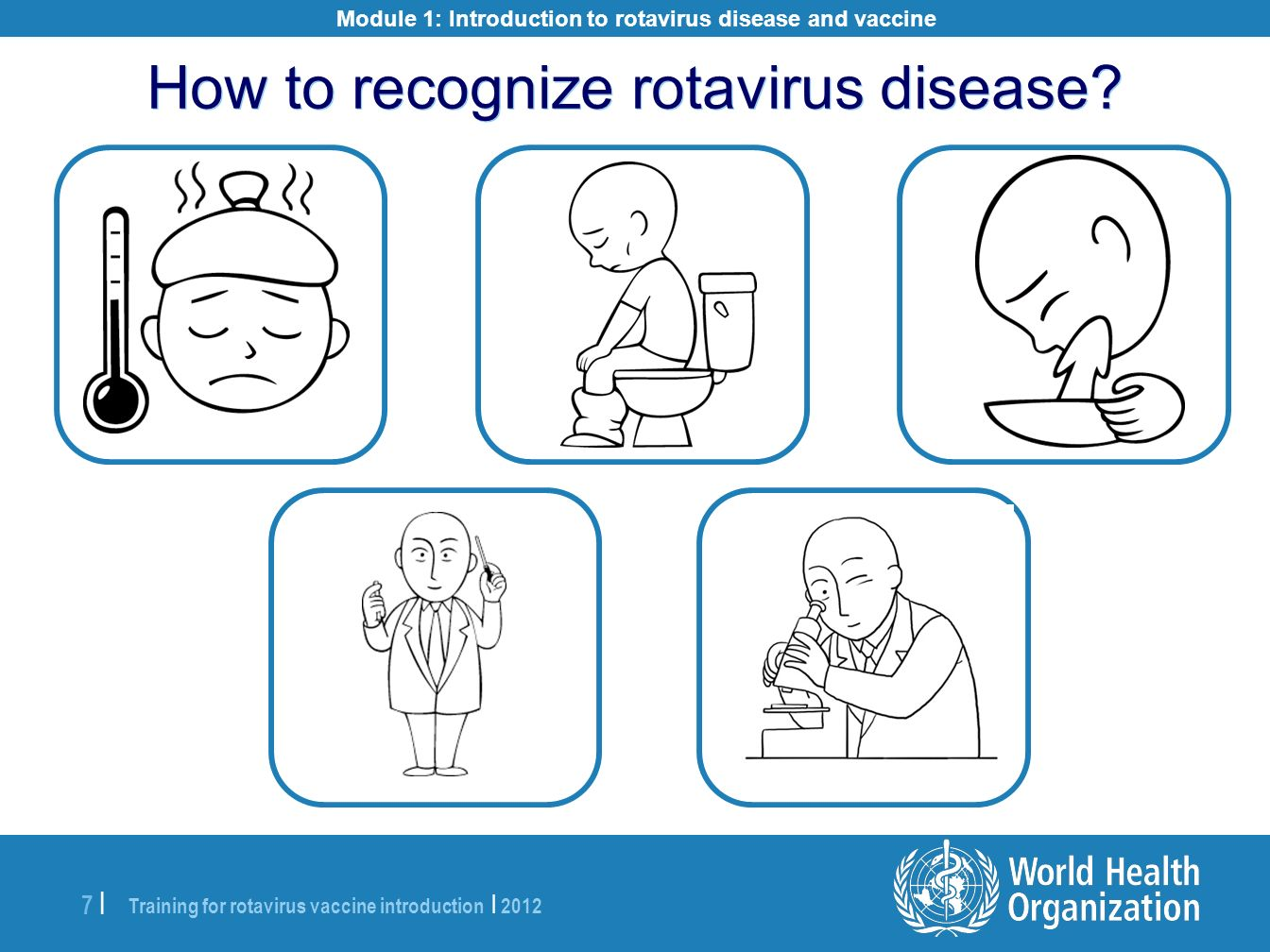 How to recognize rotavirus disease