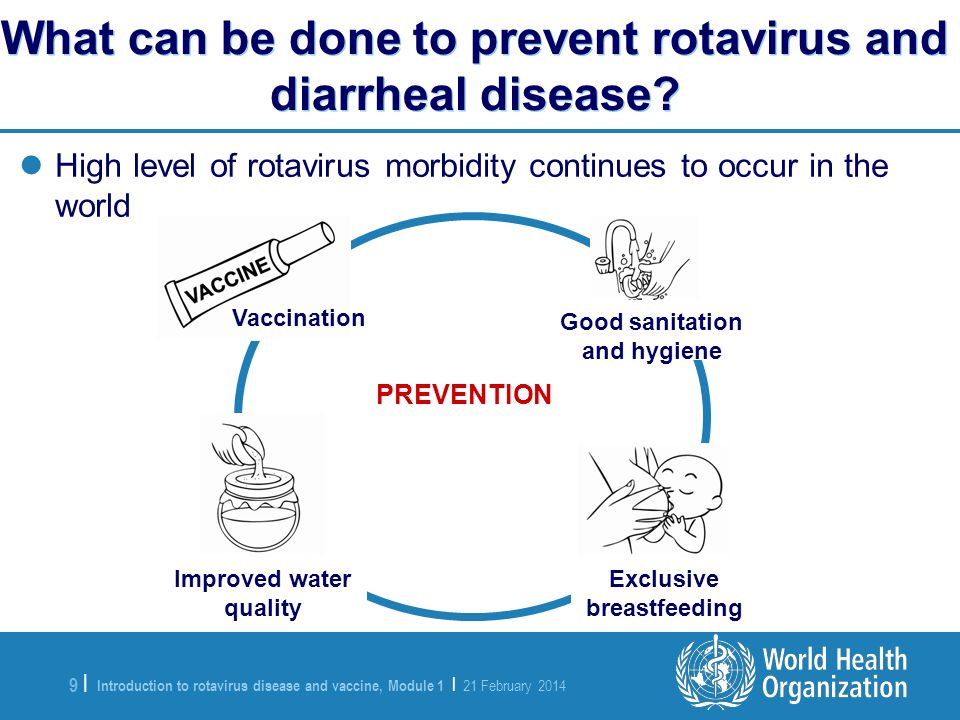 What can be done to prevent rotavirus and diarrheal disease