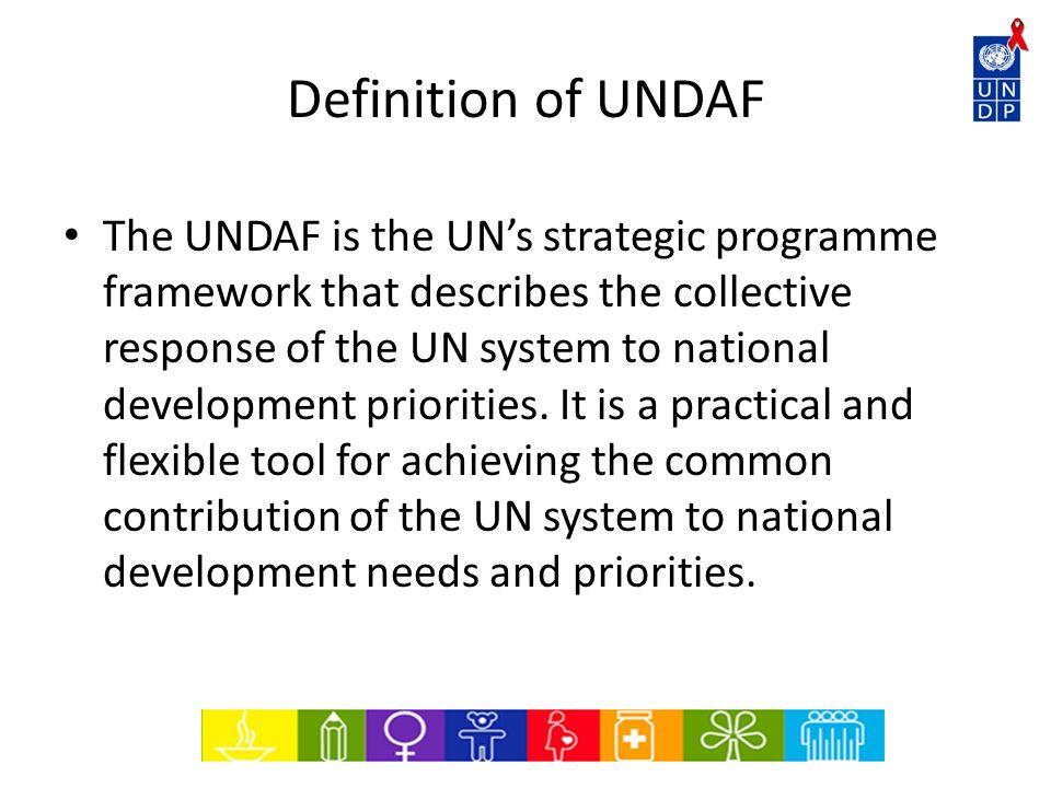 Definition of UNDAF