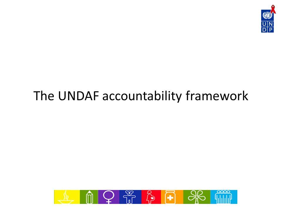 The UNDAF accountability framework