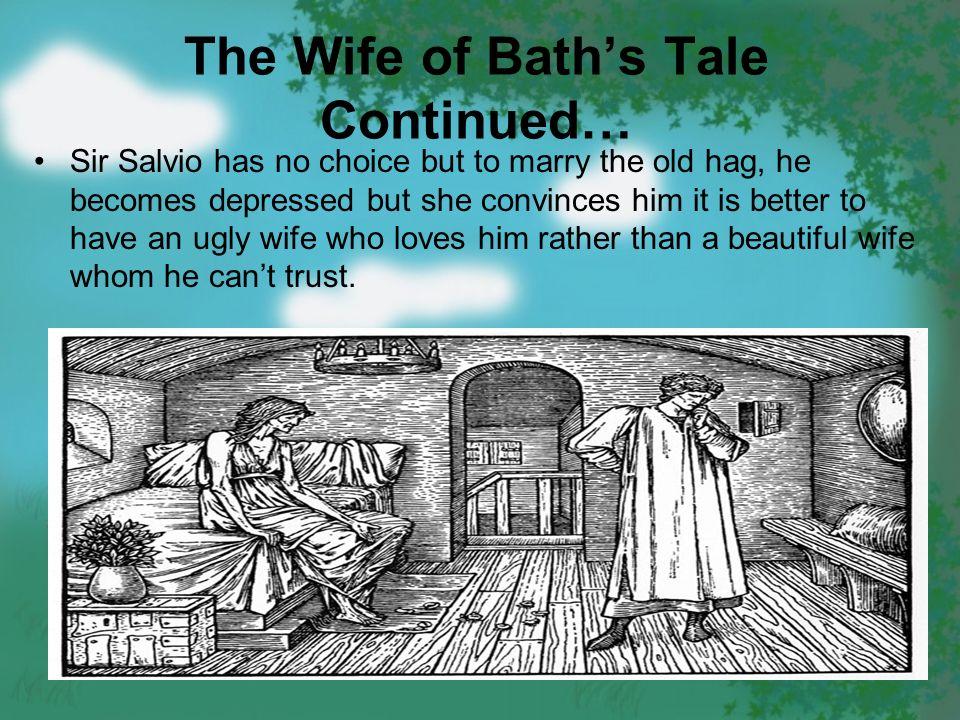 the moral in the wife of bath Il prologo e il racconto della donna di bath (the wife of bath's prologue and tale) è la sesta novella scritta da geoffrey chaucer all'interno dei racconti di canterbury.