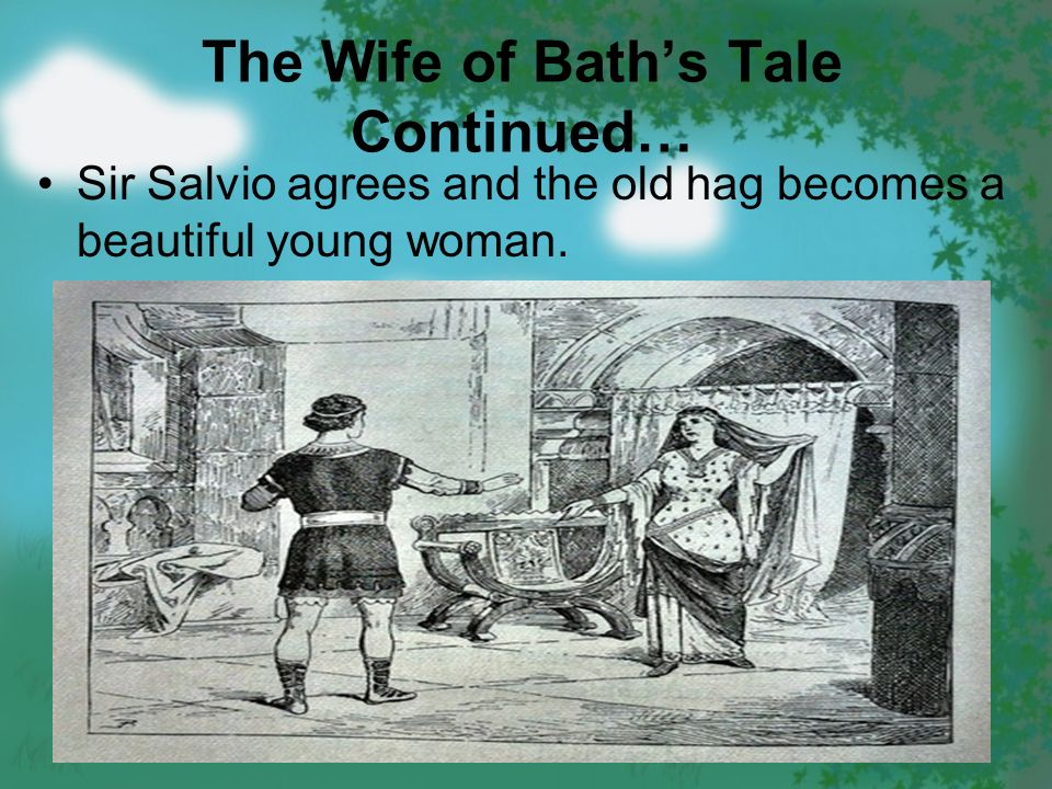 "the moral in the wife of bath What is the moral of ""the wife of bath's tale"" a men should never let women gain the upper hand b women make wiser decisions than men in all m."