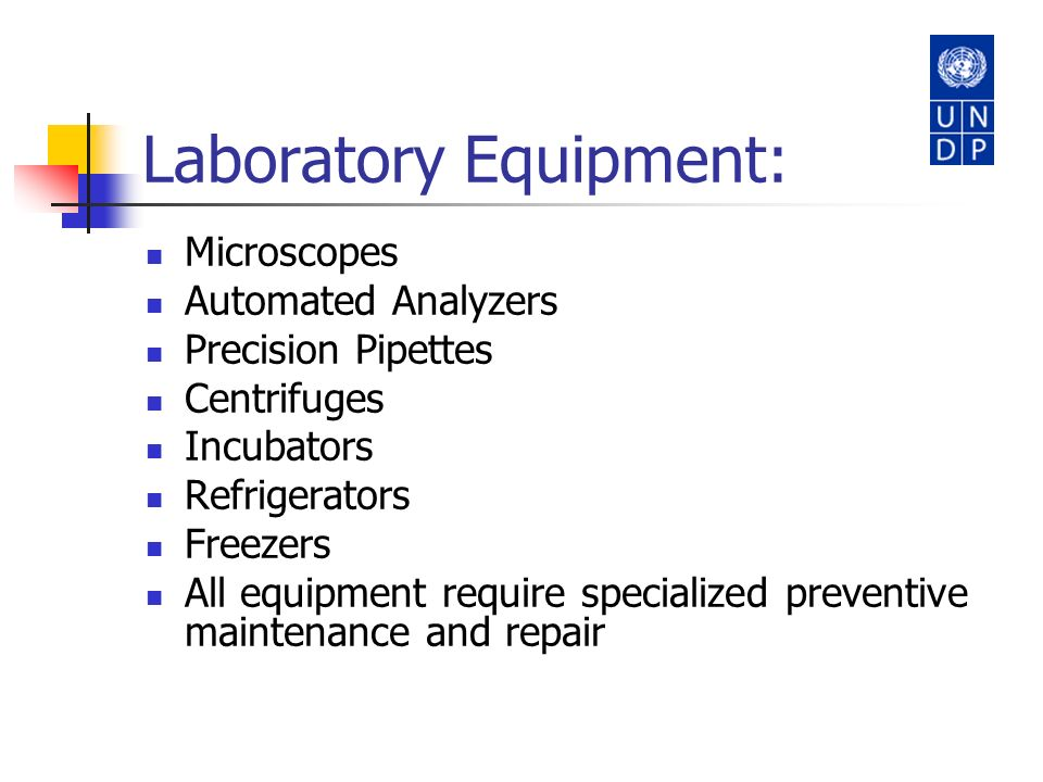 Laboratory Equipment: