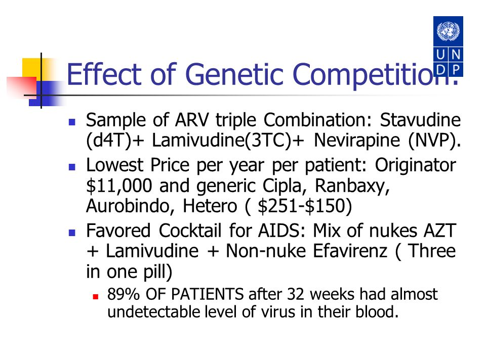 Effect of Genetic Competition: