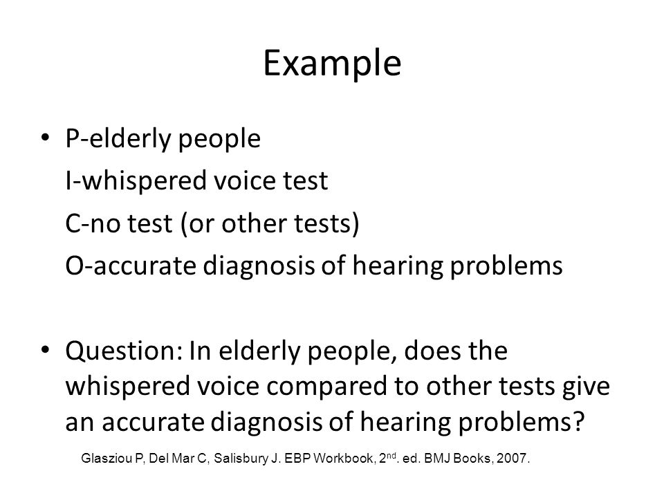 Example P-elderly people I-whispered voice test