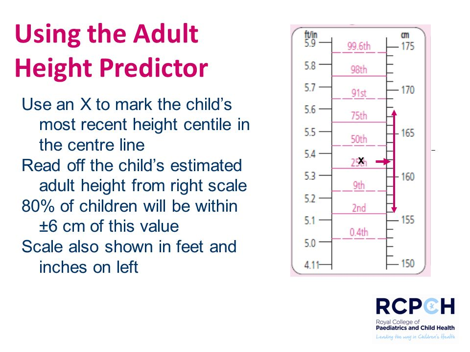 understanding growth and puberty using the rcpch uk 2
