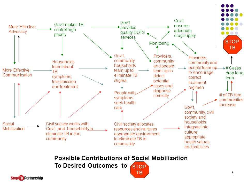 Possible Contributions of Social Mobilization To Desired Outcomes to