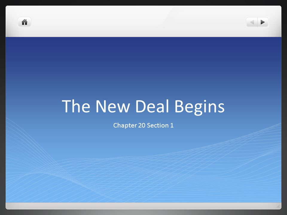 new deal chat The online tool for teaching with documents, from the national archives.