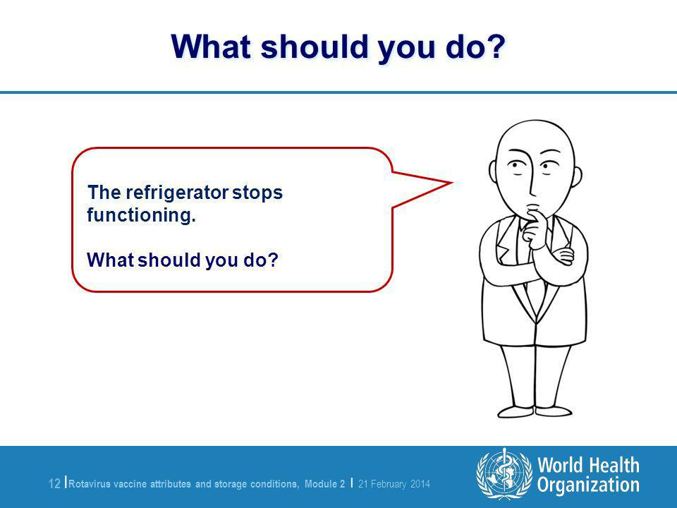 What should you do The refrigerator stops functioning.