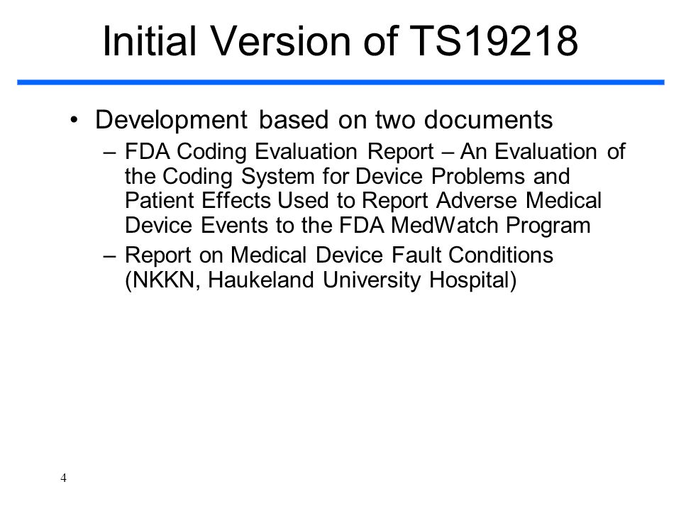Initial Version of TS19218 Development based on two documents