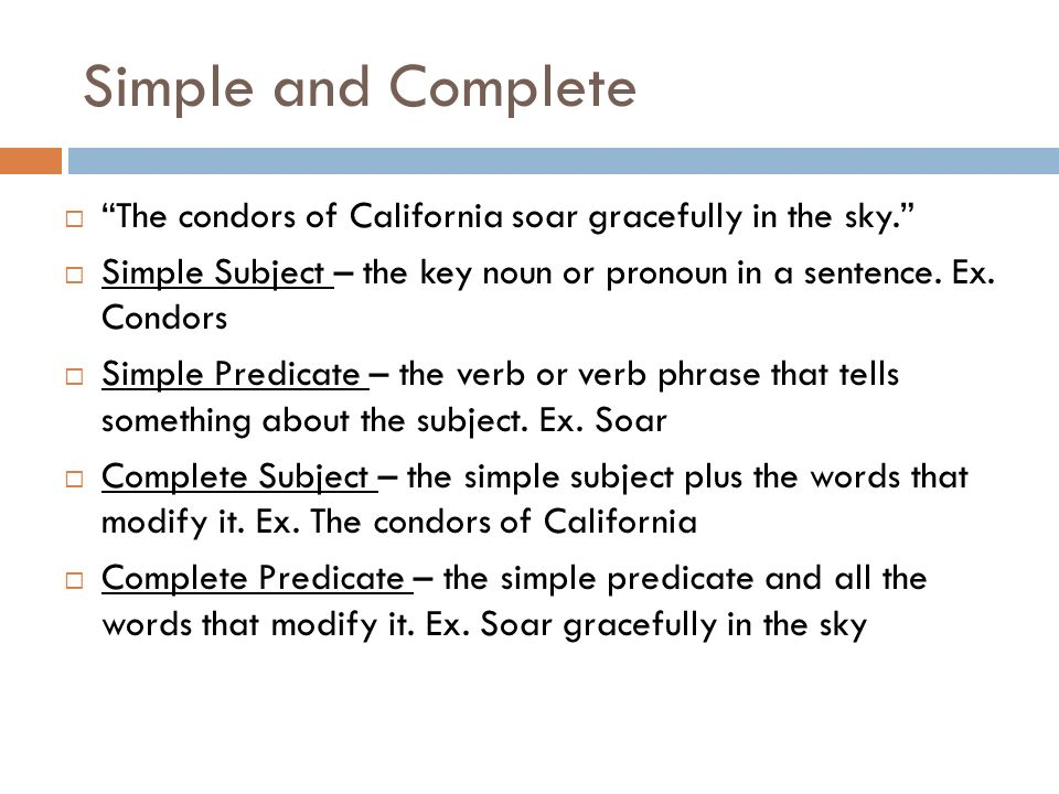 Sentences Phrases and Clauses ppt video online download – Complete Subject and Complete Predicate Worksheet