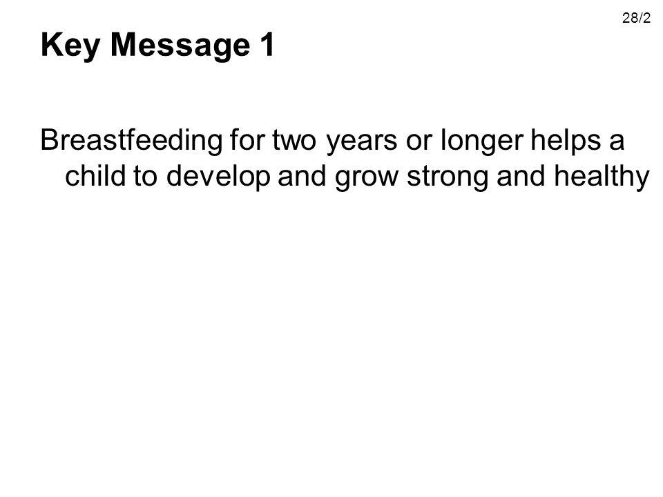 28/2 Key Message 1.