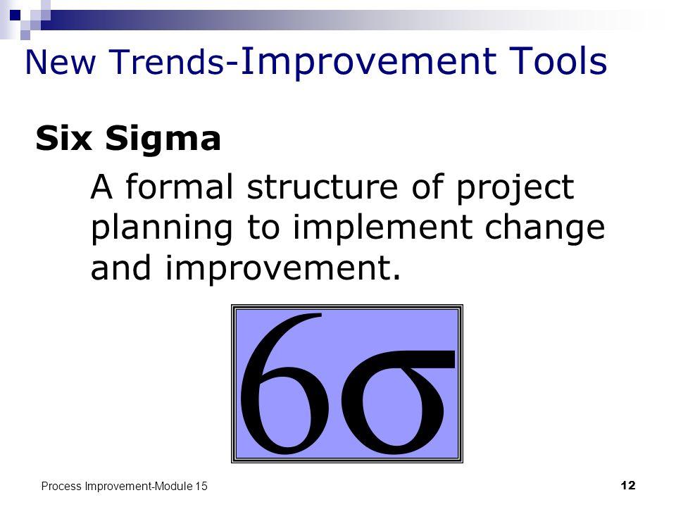 New Trends-Improvement Tools