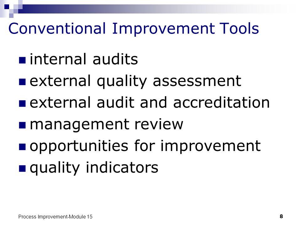 Conventional Improvement Tools