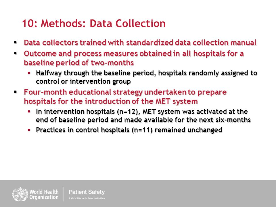 10: Methods: Data Collection