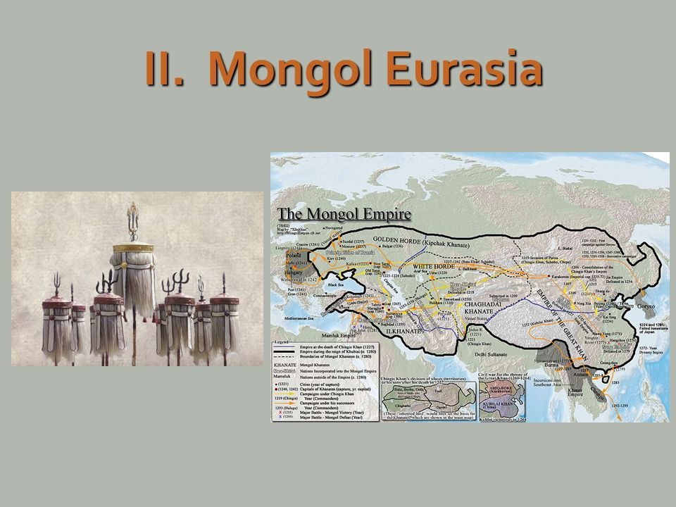 the mongols unify eurasia