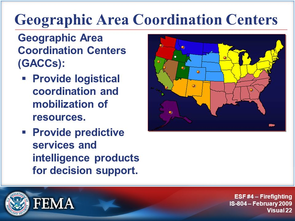 Geographic Area Coordination Centers