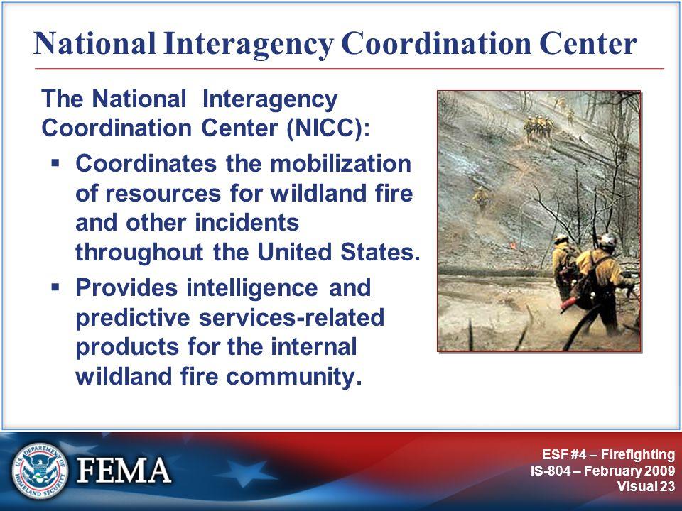 National Interagency Coordination Center