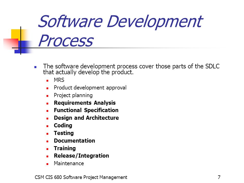 Software Development Process Guidelines For Project Managers Ppt Download