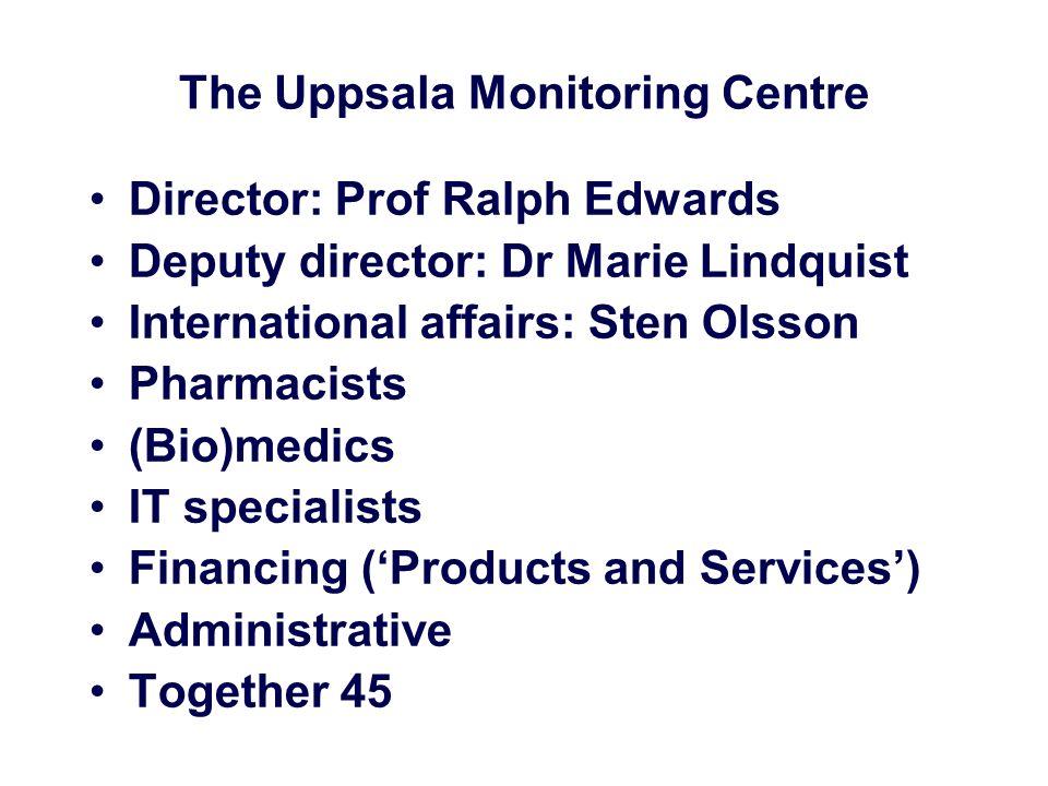 The Uppsala Monitoring Centre