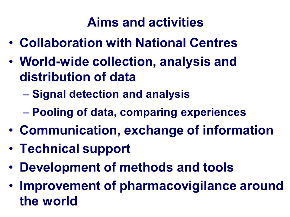 Collaboration with National Centres
