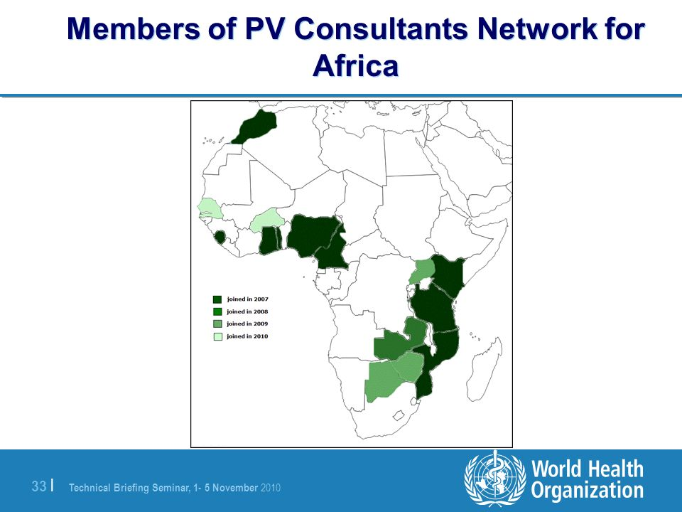 Members of PV Consultants Network for Africa