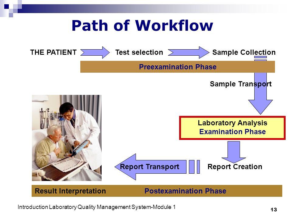 Laboratory Analysis Examination Phase