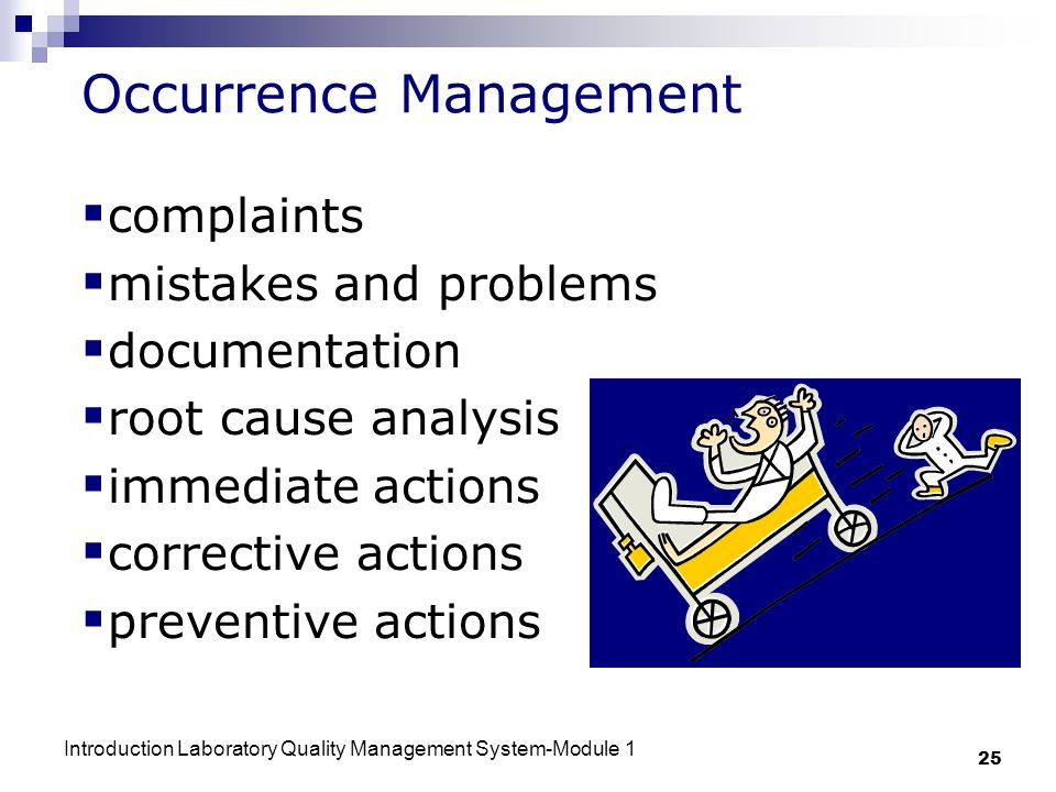 Occurrence Management