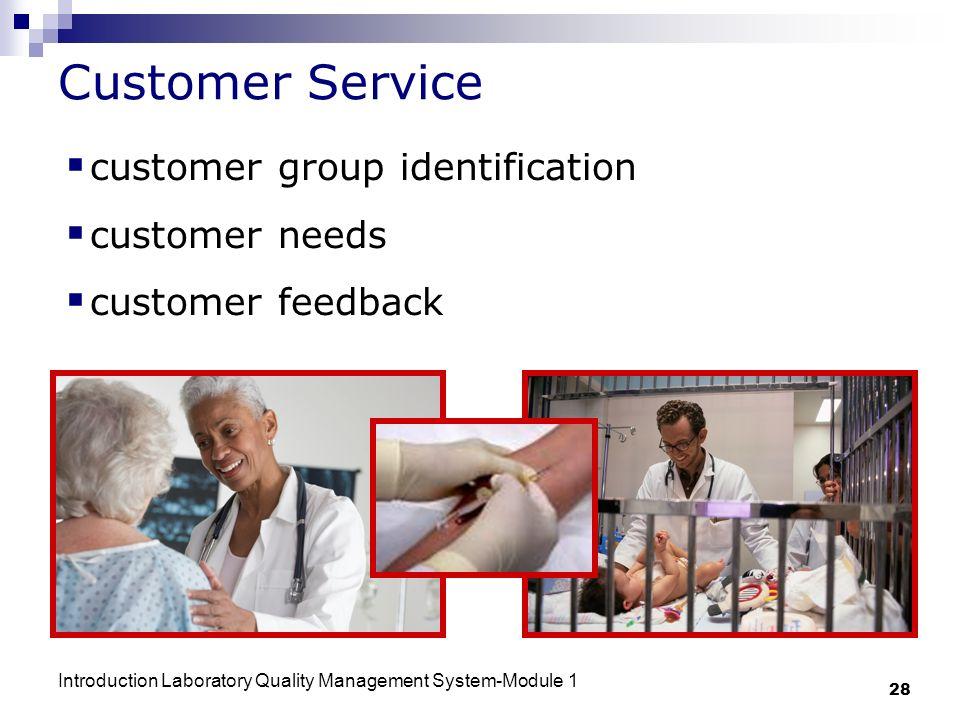 Customer Service customer group identification customer needs