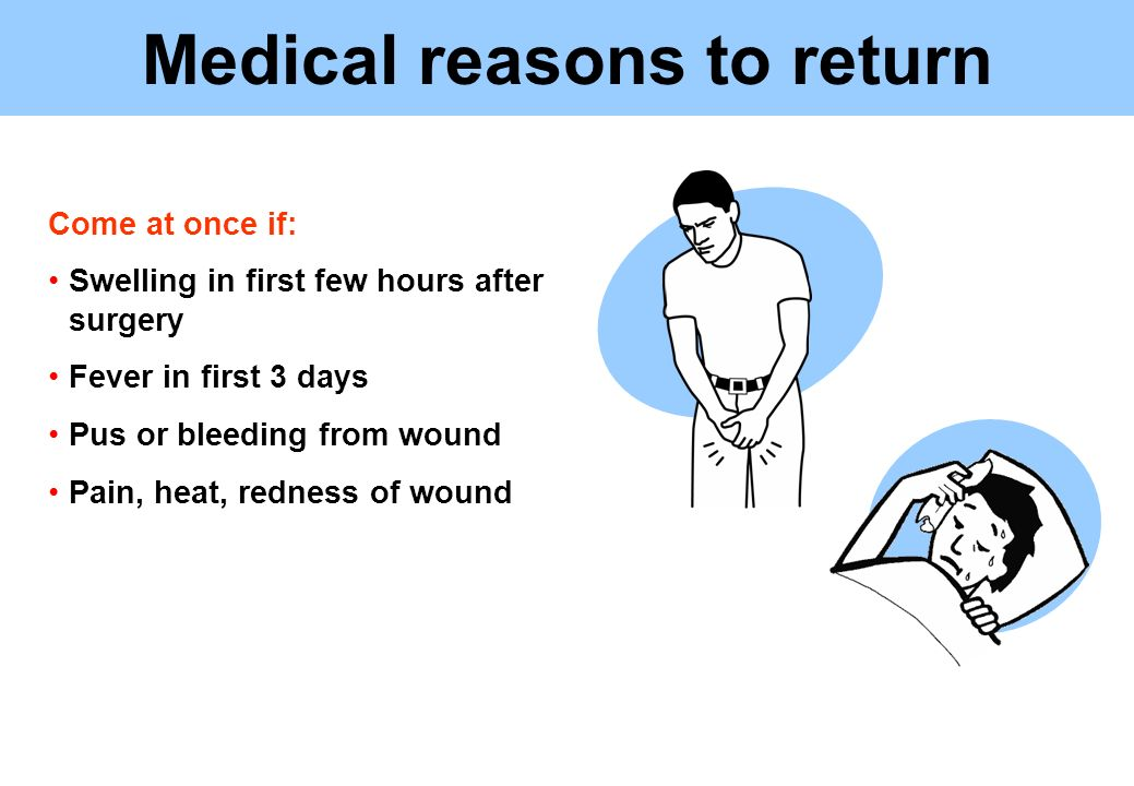 Medical reasons to return