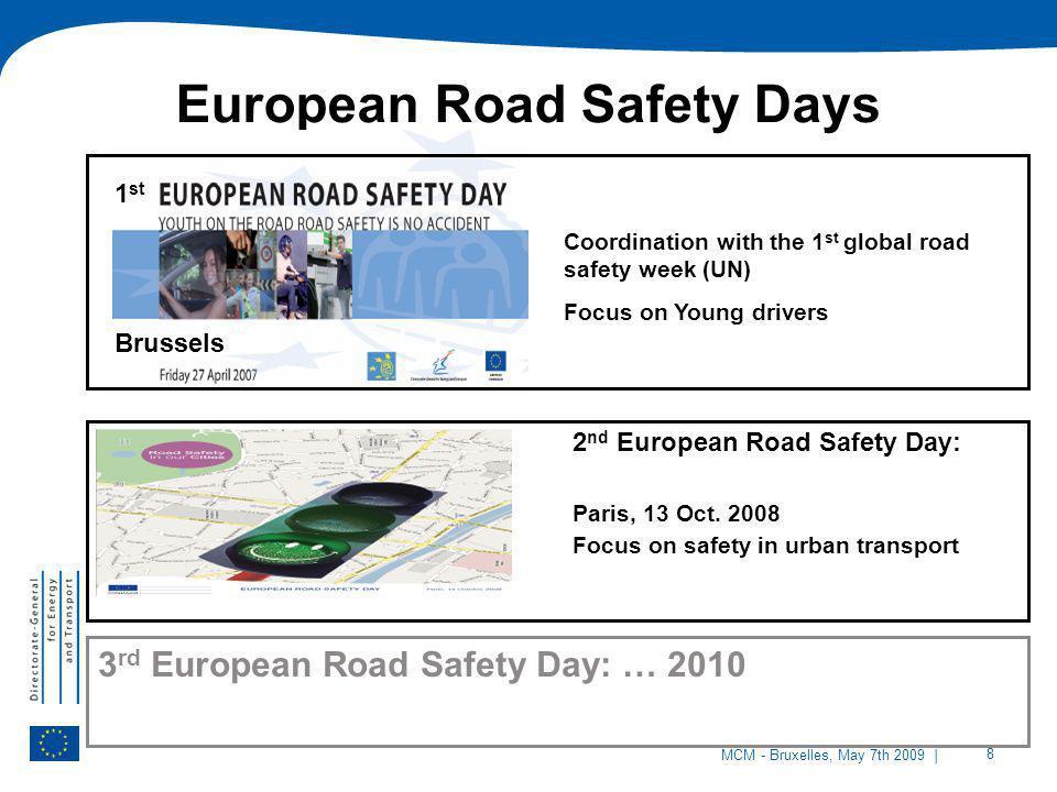 European Road Safety Days