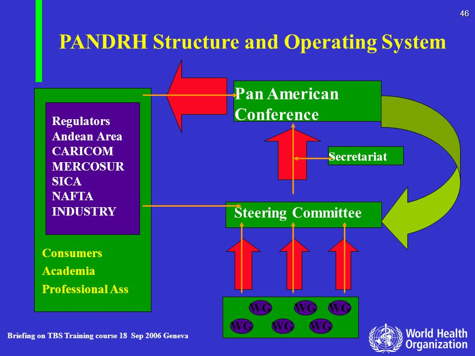 PANDRH Structure and Operating System