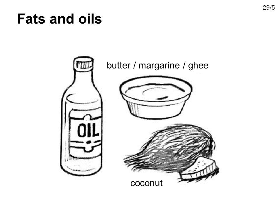butter / margarine / ghee