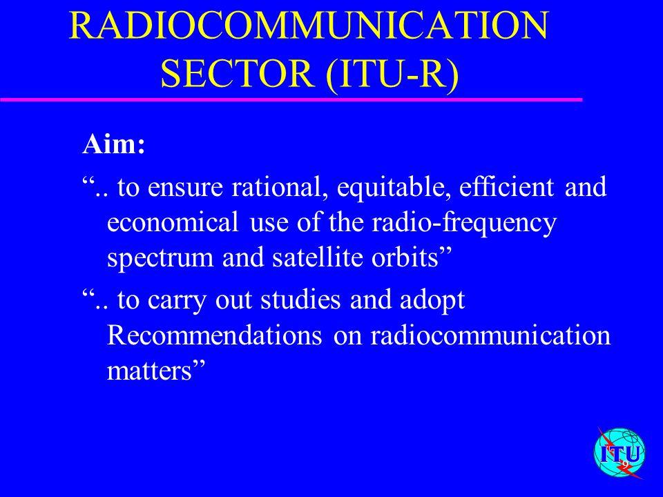 RADIOCOMMUNICATION SECTOR (ITU-R)